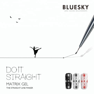 BLUESKY new fashion MATRIX GEL use for making broken line cheap gel nail polish