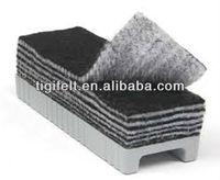 Wool felt eraser for cleaning black board