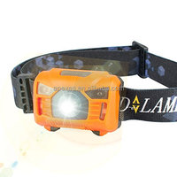 2017 Plastic cheap headlamp oem headlamp LED for wholesale