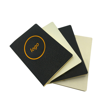 2019 Custom Printed Logo Notebook Soft Cover PU Leather Planner With Gold Foil Edges