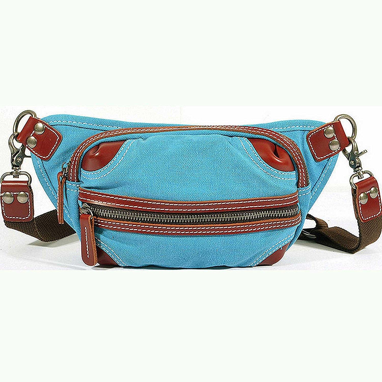 Paonies Unisex Waist Bum Bag Canvas Bags Pack Belt Bags Travel Money Holiday Sports Waist Bag