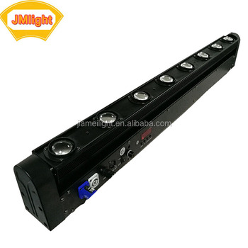 Dmx512 Stage Lighting 8x10 4in1 Led Pixel Beam Moving Bar