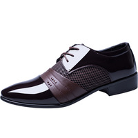 Wholesale new men's business dress shoes Large size men's leather shoes