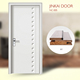 2016 interior wooden doors JINKAI brand pvc bathroom plastic door price