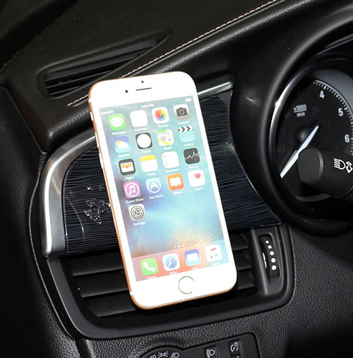 Universal mini mobile phone magnet car mount Magnetic cell phone car holder