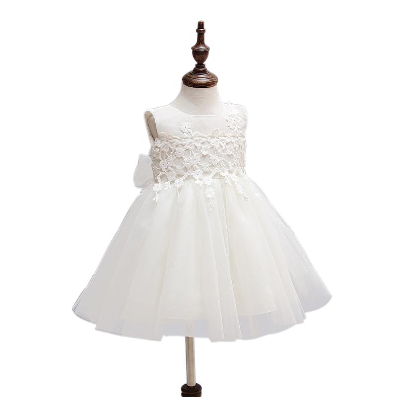 2016 High Quality Baby Dress Baptism Dress Infant 0 2Year Birthday Chirstening Dress Newborn baby christmas