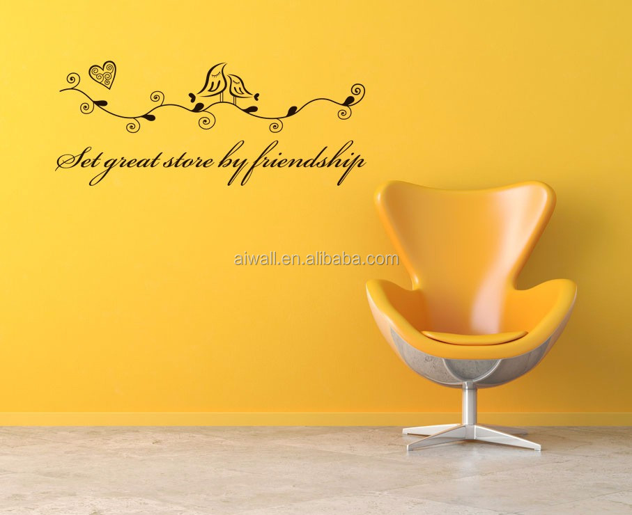 9103 Let Great Stove By Friendship Wall Sticker For Kids Diy Home ...