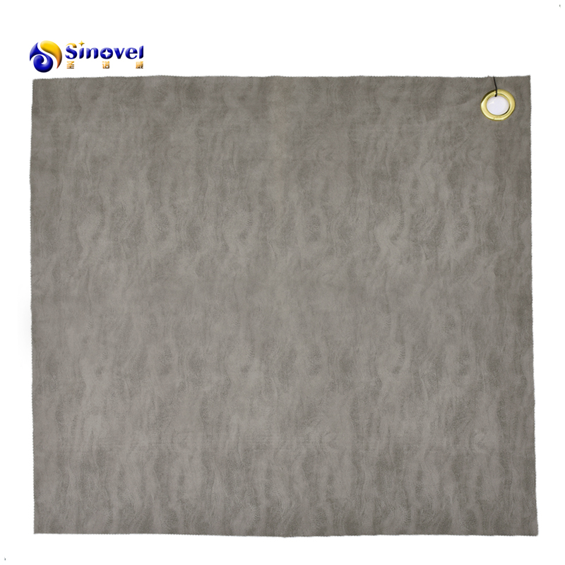 2021 hot sale 100% Polyester  Bronzed Suede Fabric
