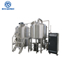 China Best Quality Beer Micro Draft Beer Brewing Equipment / Mash House