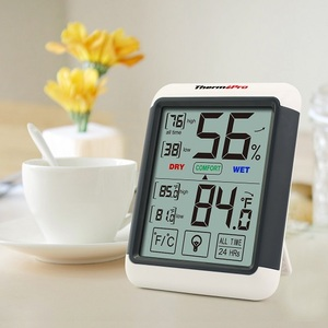 Thermopro TP55 Indoor Digital Backlight Multi Thermometer & Hygrometer with Touch Screen