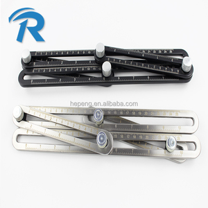 Stainless steel measuring tool multi angle folding ruler wholesaler Multi-function folding ruler