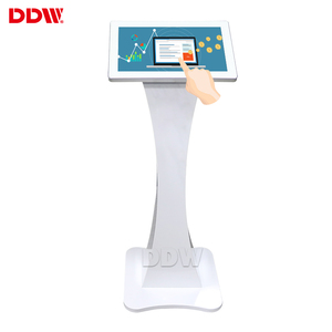 "Factory direct sale 19"" 21.5"" small size capacitive multi touch android floor standing digital signage touch screen kiosk"