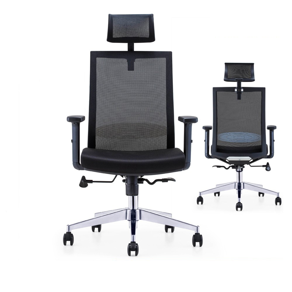 Best selling manager executive high back ergonomic office mesh chair with  molded sponge