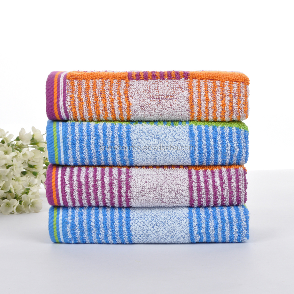 Wholesale Yarn dyed colored towel 100 cotton terry kitchen towel