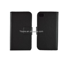 Hot selling product Wallet Case with Credit ID Card Holder for Iphone5/5s made in china