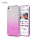 Gradient color Brush Metal Soft Flexible TPU Rubber Back Phone Case Cover For iphone7