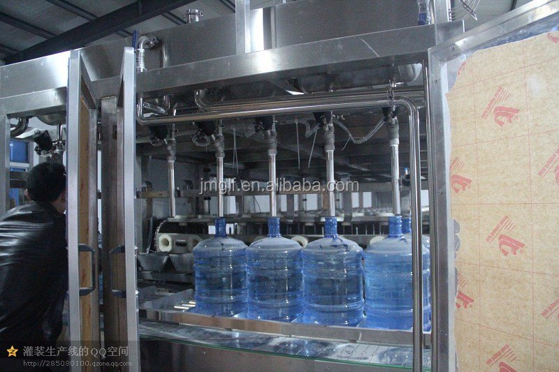 Competitive Price 5 gallons 120B/H water bottle washing/filling/capping machine