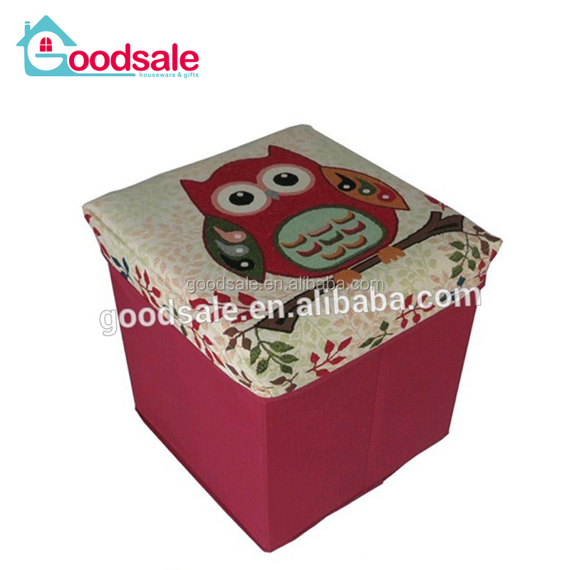 Incredible 2016 Best Selling Canvas Foldable Square Storage Pouffe Chair Ottoman Stool Buy Storage Pouffe Folding Storage Ottoman Colorful Storage Stool Onthecornerstone Fun Painted Chair Ideas Images Onthecornerstoneorg