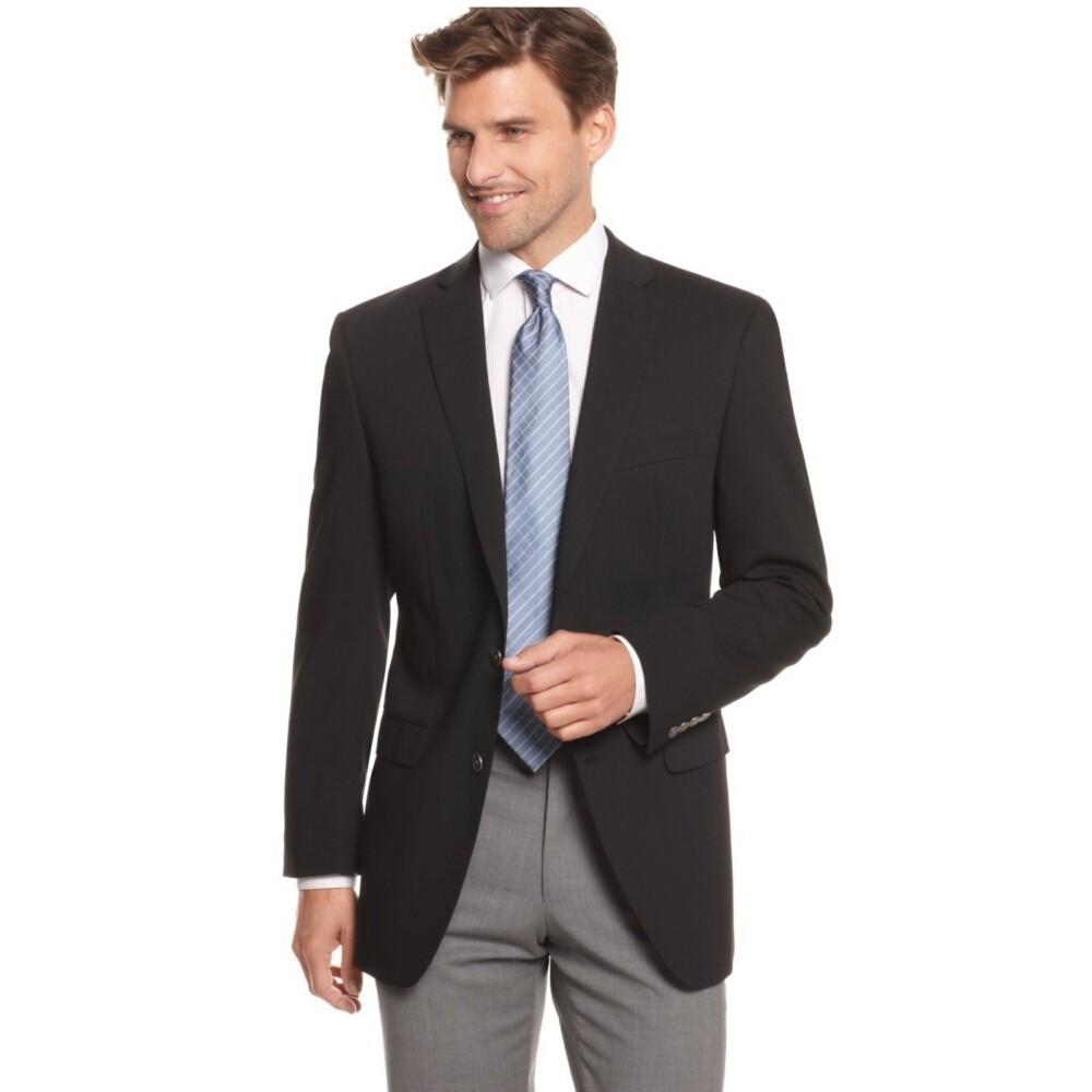 So, it's very important to team up your black suit jacket with an ideal coloured pants to get the perfect look. These are some colours that I would recommend to try on with a black suit jacket: o Grey: This is quite an easy choice and a safe option.
