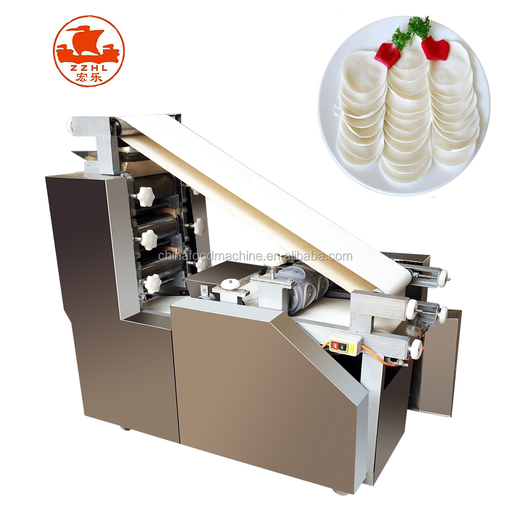 Automatic wonton dumpling skin wrapper making machine