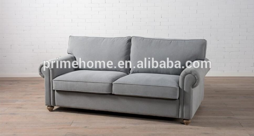 Luxury Solid Hotel Chesterfield Sofa Leather, Living Room Vintage Leather Sofa