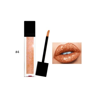 OEM Professional Waterproof Cosmetics Lip Stick Makeup Liquid Glitter Lipstick With Private Label