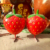 Hot Sale New Product Wholesale Shopping Fiberglass Resin Fruit Strawberry Sculpture