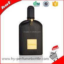 100ml black empty perfume bottles long time sex spray for men
