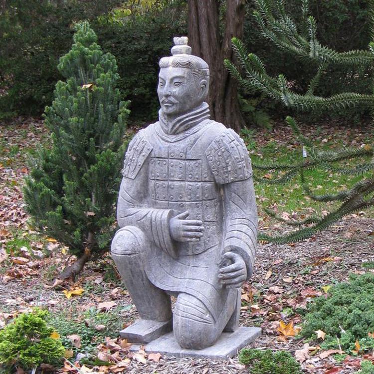 Asian garden sculpture 12