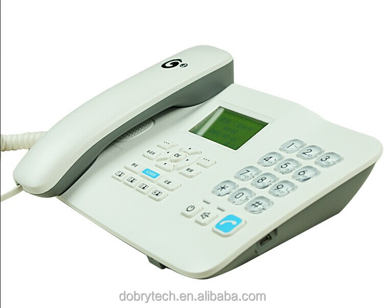 New Gsm Wireless Home Phone Table Phone With Sim Card Huawei F516 ...