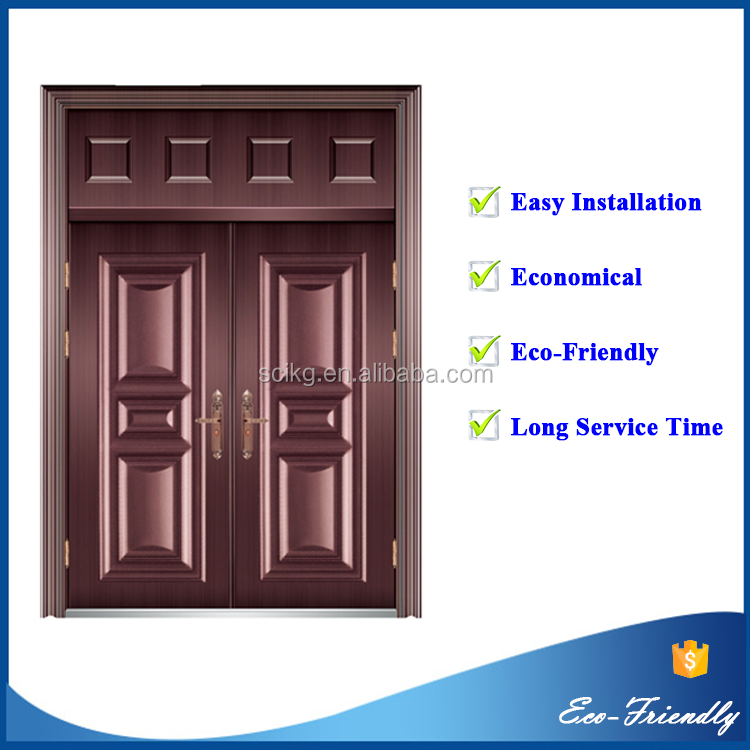 powder coated steel door frame