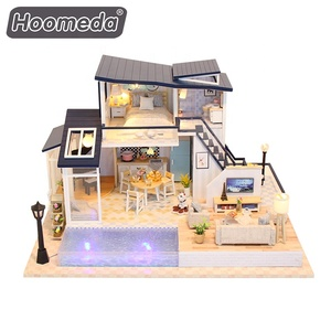 Dollhouse Miniature DIY Music House Kit Creative Room with Furniture
