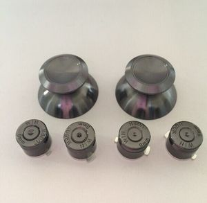 TGE003H 7 color Aluminum Alloy Thumbsticks and Bullet Button Kits for PS4 Controller