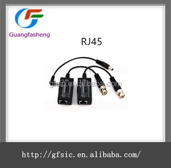 Low Price Cctv Video Balun Ptz Camera Rj45 To Bnc Converter Balun Power  Connector - Buy Hot Sale Rj45 To Bnc Converter Balun Power Connector,High
