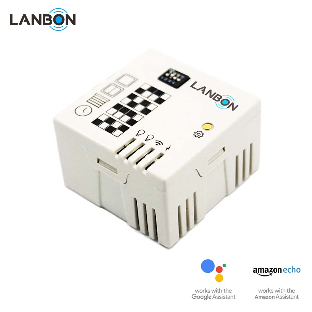 Lanbon smart home products IOT Smart HomeKit WiFi module wireless touch switch module compatible with google home and amazon