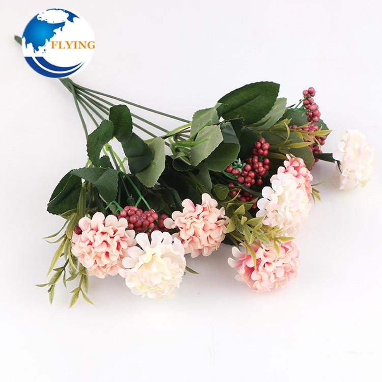 Factory Direct Sale Small Hydrangea Mixed Bubble Grain Flower