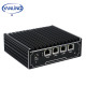 12v mini pc intel baytrail J1900 quad core school hospital cloud computer 4 lan pfsense Router