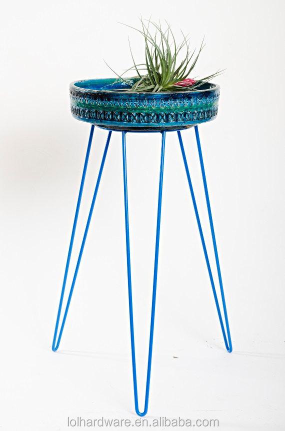 indoor outdoor garden metal wire flower pot plant stand