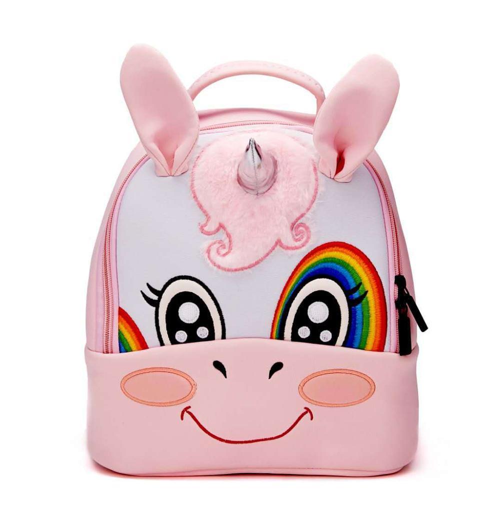 cheap wholesale 3d kids school bags 2019 cartoon unicorn bag for kid