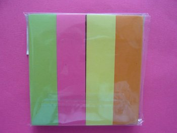 Colorful sticky notes pad buy sticky notes padletter for Buy letter shaped sticky notes