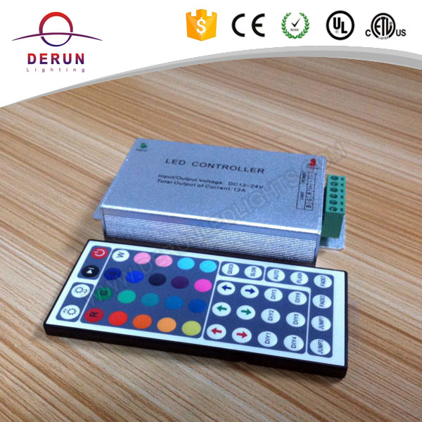44 keys RGB led strip IR led remote controller