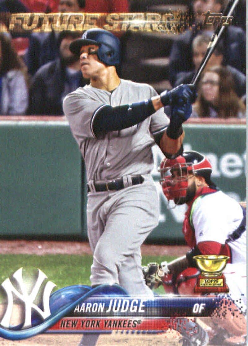 2018 Topps #1 Aaron Judge New York Yankees Baseball Card