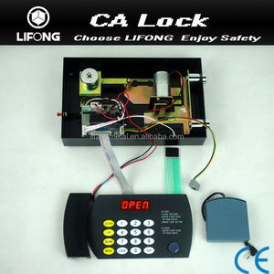 safe deposit box lock,electronic lock,safe access control system