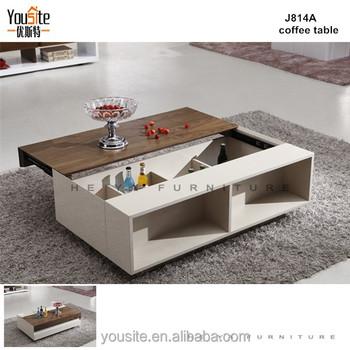 E Saving Furniture Living Room Extending Coffee Table J814a