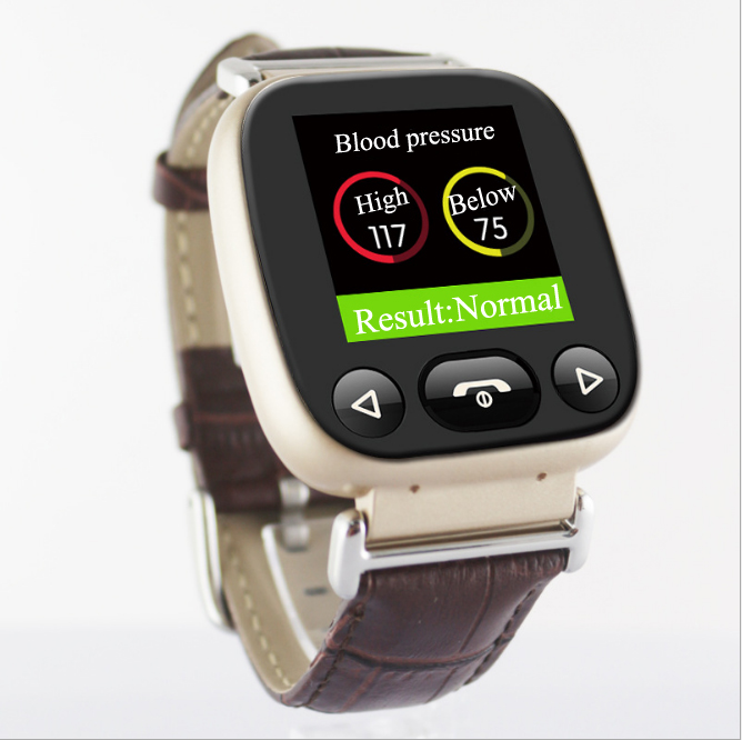 Smart Gps Tracker Nurse Watch products for Elderly heart rate and blood pressure Monitoring