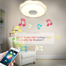WIFI Color Temperature changing surface mounted led ceiling light remote t 2.4G CCT