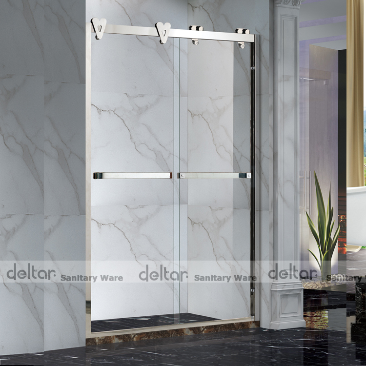 Tempered Glass Shower Door Shower Screen Prefab Bathroom Shower Tiny Houses  Ready Made Bathroom