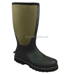 Wholesale Waterproof Outdoor Forming Neoprene Safety Shoe Rubber Muck Boots For Hunting