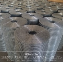 Galvanized & PVC coated Welded wire mesh Anping factory supplier