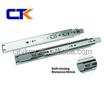 High Quality Self-closing Ball Bearing Slide For Cabinet Drawer ...